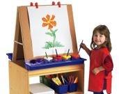 Art Supplies and Easels