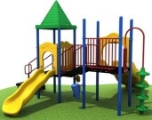 Ages 2-12 Years Play Structures