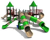 Ages 5-12 Years Play Structures (for Elementary Schools)