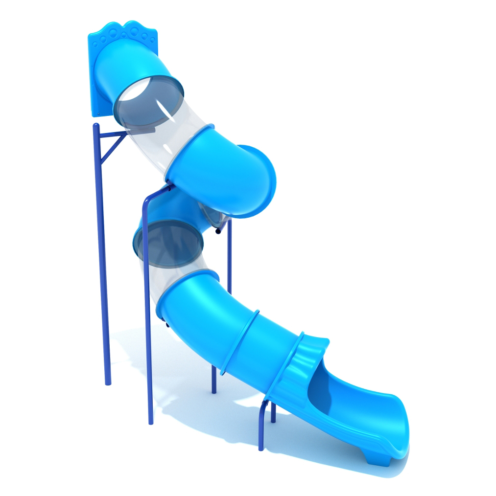 Commercial Grade Indoor And Outdoor Spiral Slide At 12