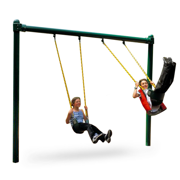 5 inch single post swing by sii aaa state of play for Diy adult swing set