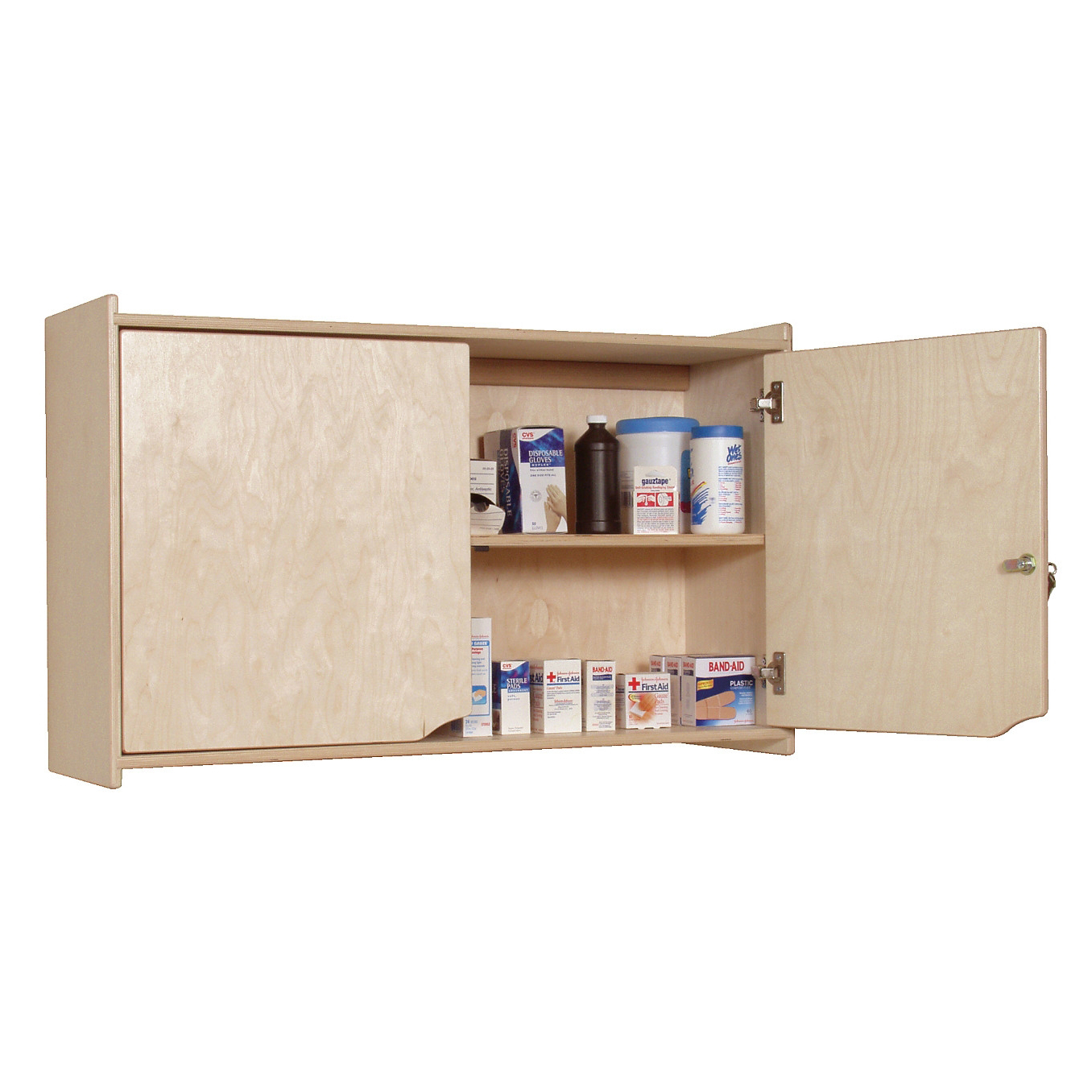 Angeles Locking Wall Storage Cabinet