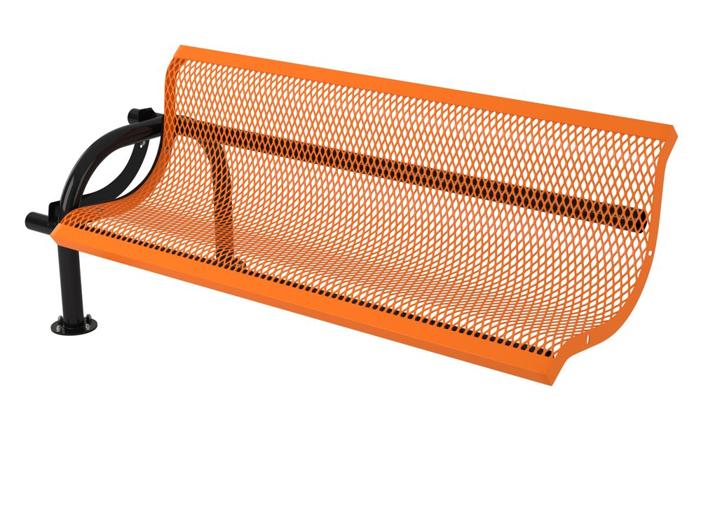 . Webcoat Modern Standard Style Bench with Expanded Steel