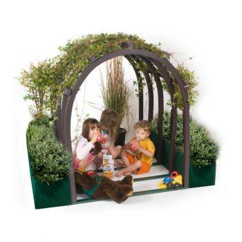 Vine House with Children