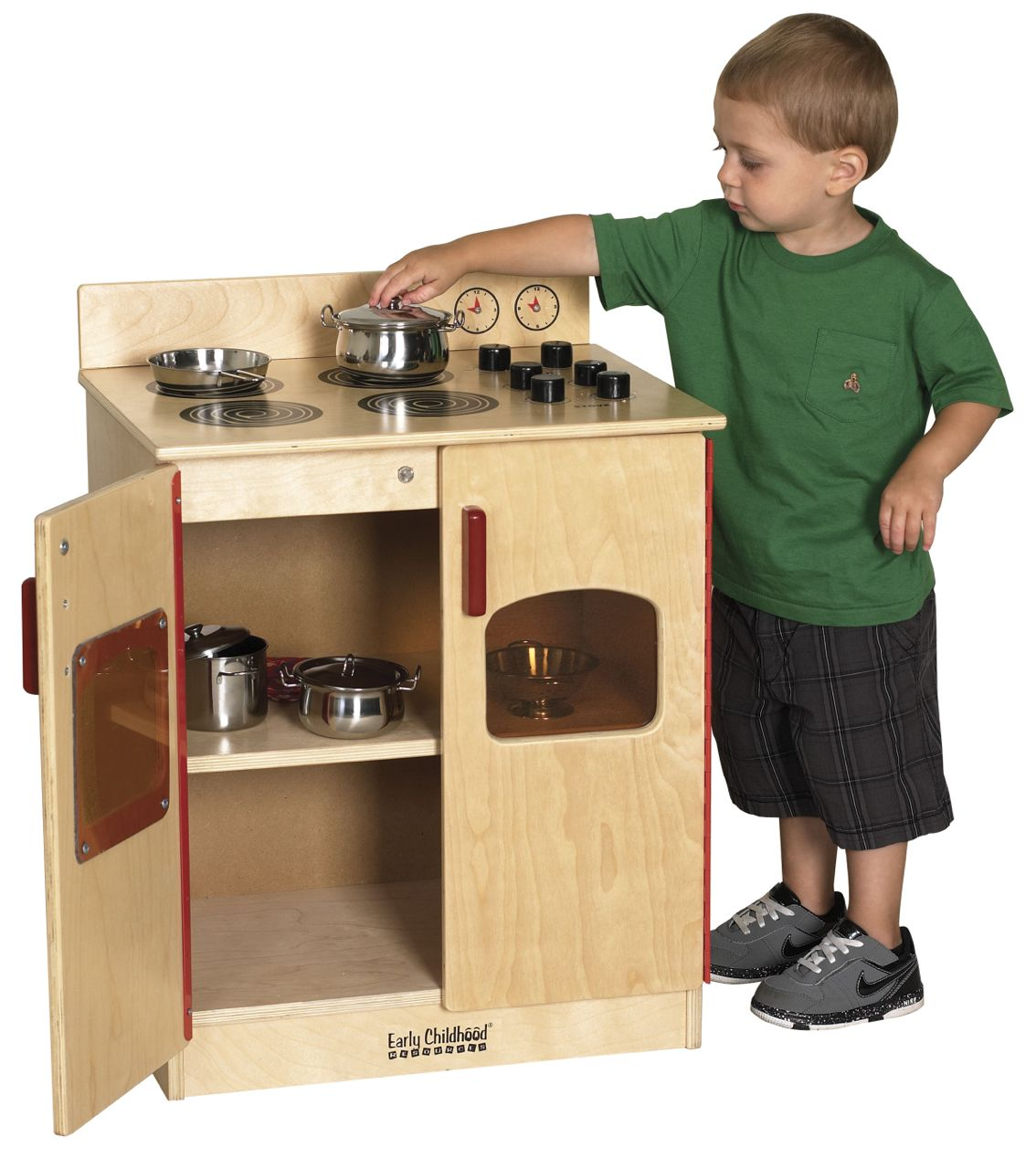 ECR4Kids Play Kitchen Stove