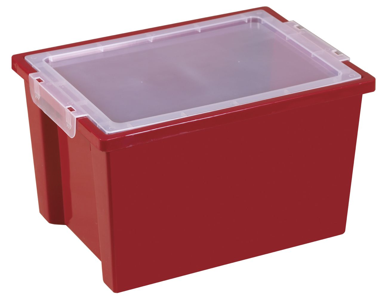 ECR4Kids Large Storage Bins with Lids 4 Pack