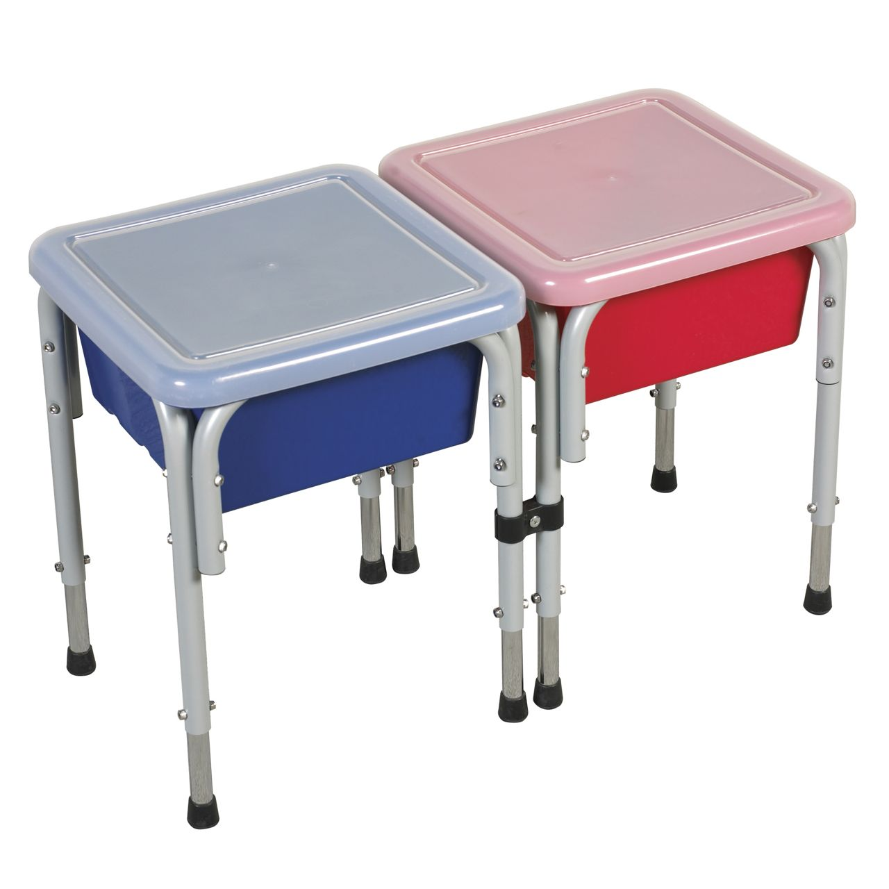 Ecr4kids Two Station Square Sand Water Table With Lids