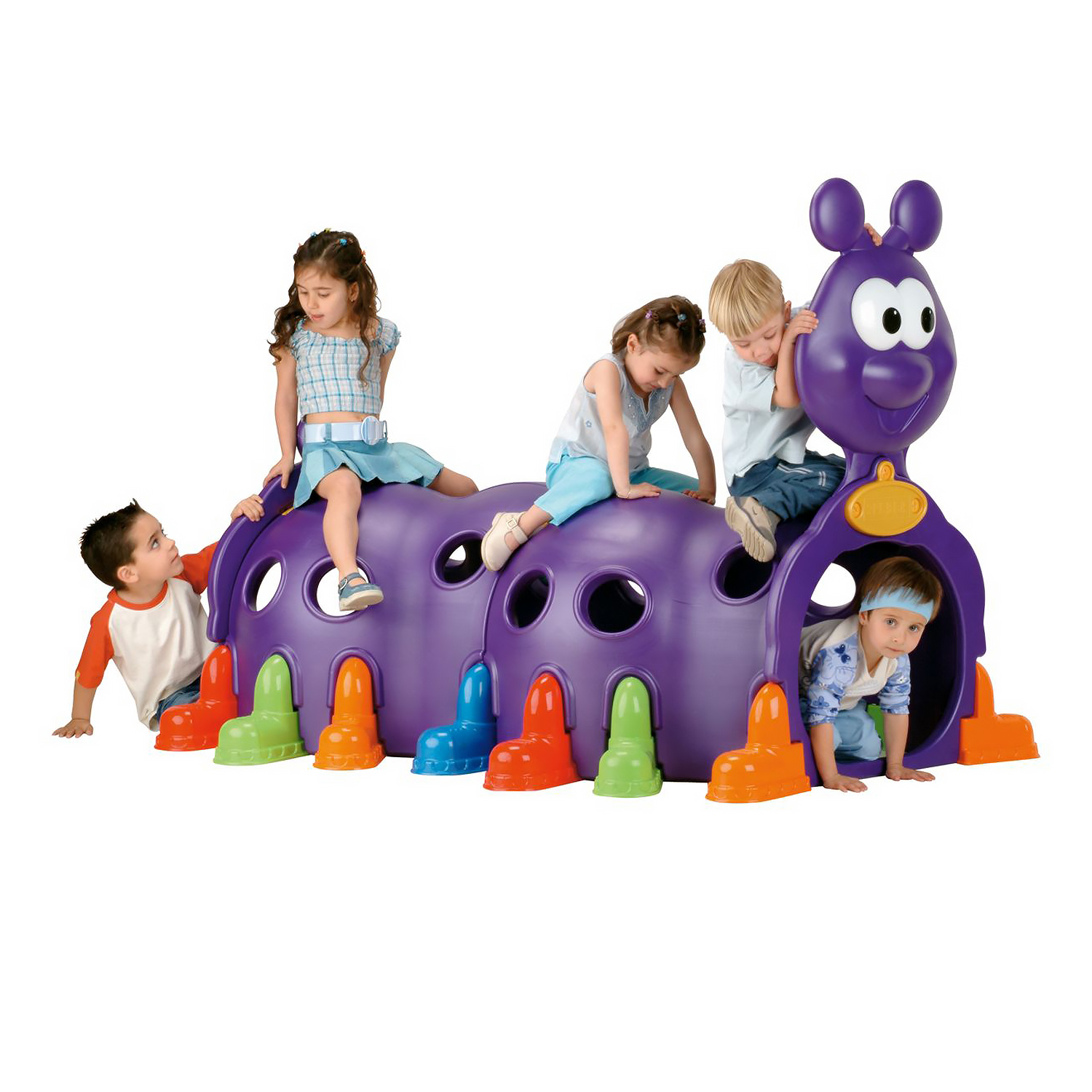 Captivating Candy Caterpillar Toddler Play Tunnel