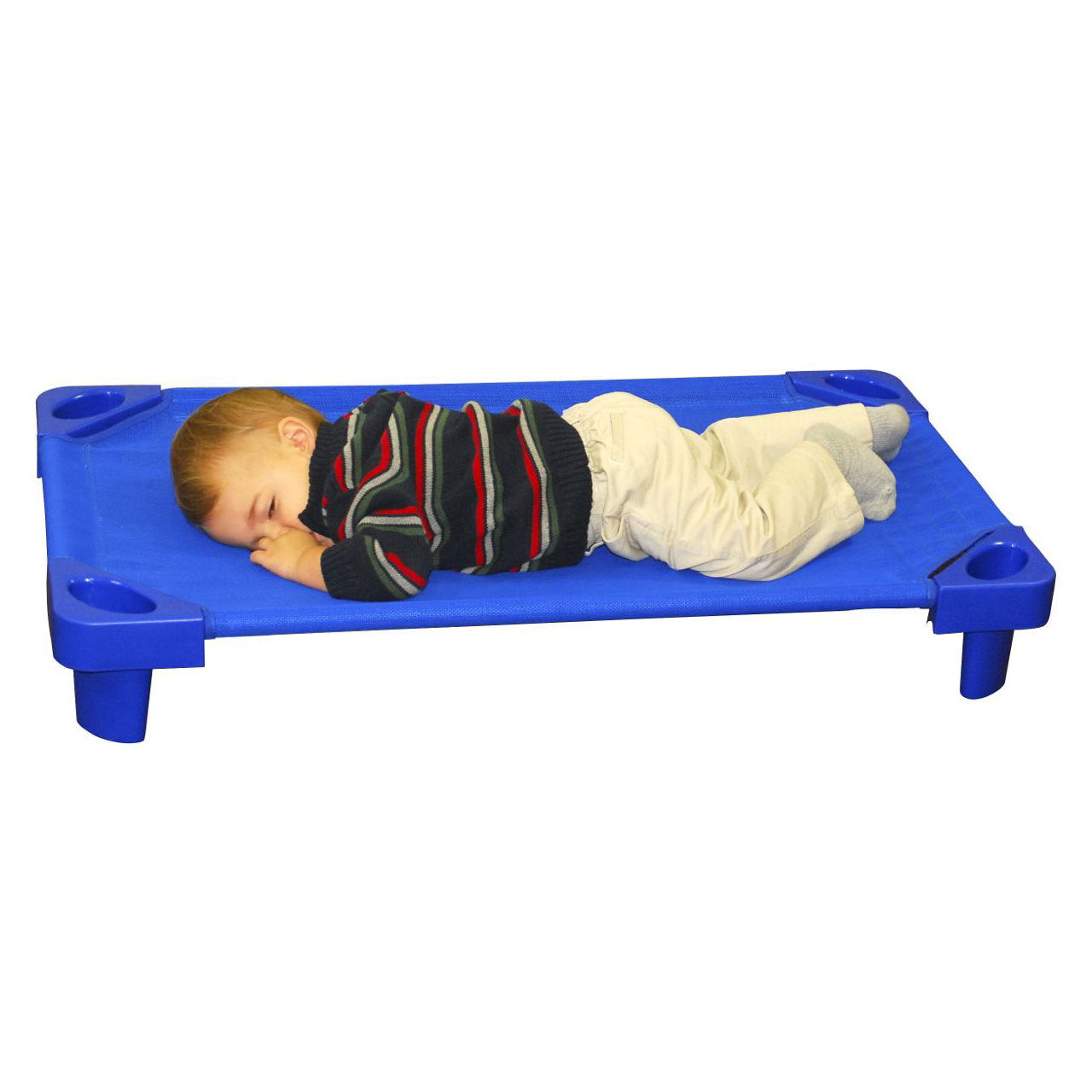 half off b0fd5 0841a ECR4Kids Toddler Stackable Kiddie Cots - 6 Pack Ready to Assemble