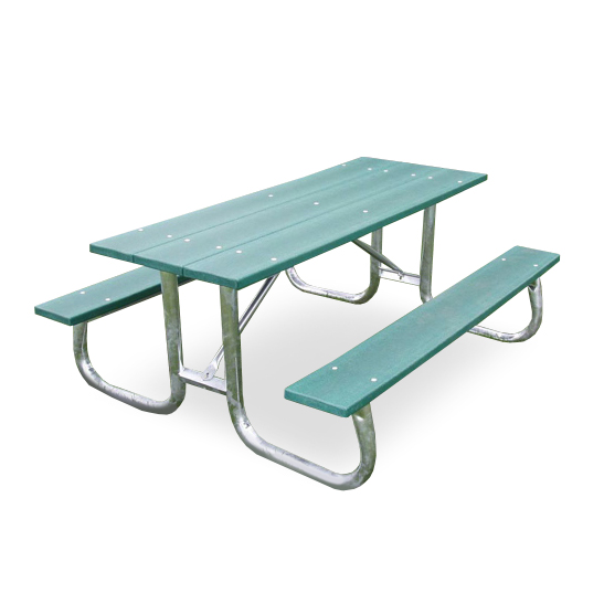 Fantastic Recycled Plastic Galvanized Frame Picnic Table Squirreltailoven Fun Painted Chair Ideas Images Squirreltailovenorg