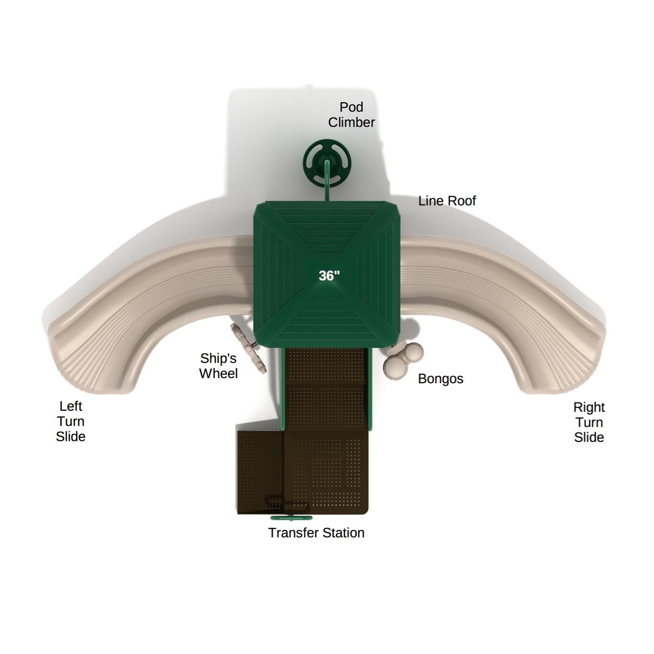 Brilliant Banana Split Playground System Ibusinesslaw Wood Chair Design Ideas Ibusinesslaworg