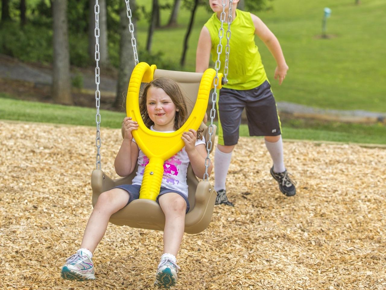 Large Child Adaptive Swing Seat