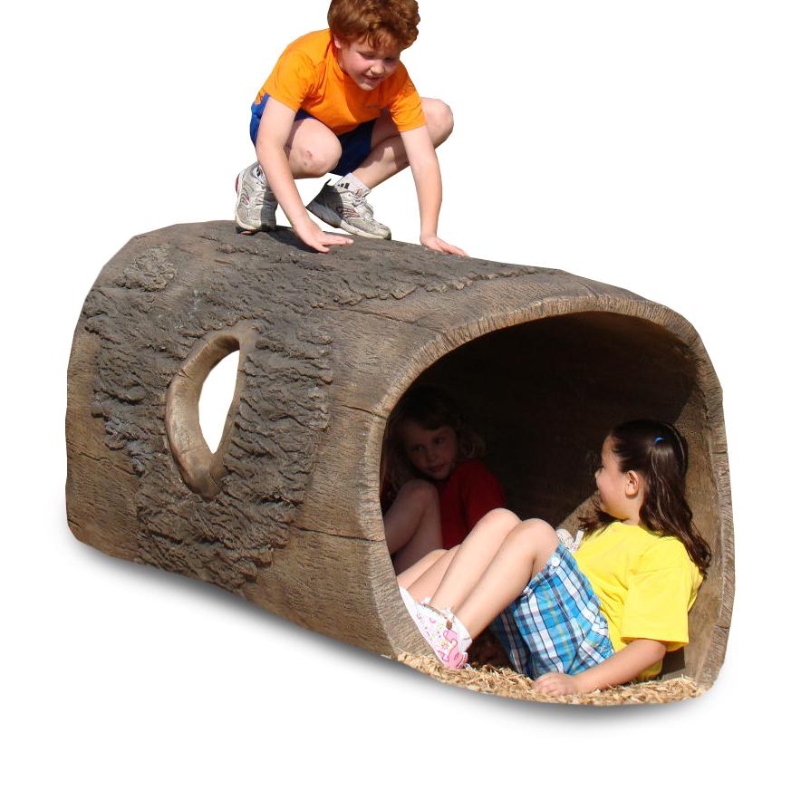 Gfrc Log Tunnel From Naturerocks Ground Activity Aaa