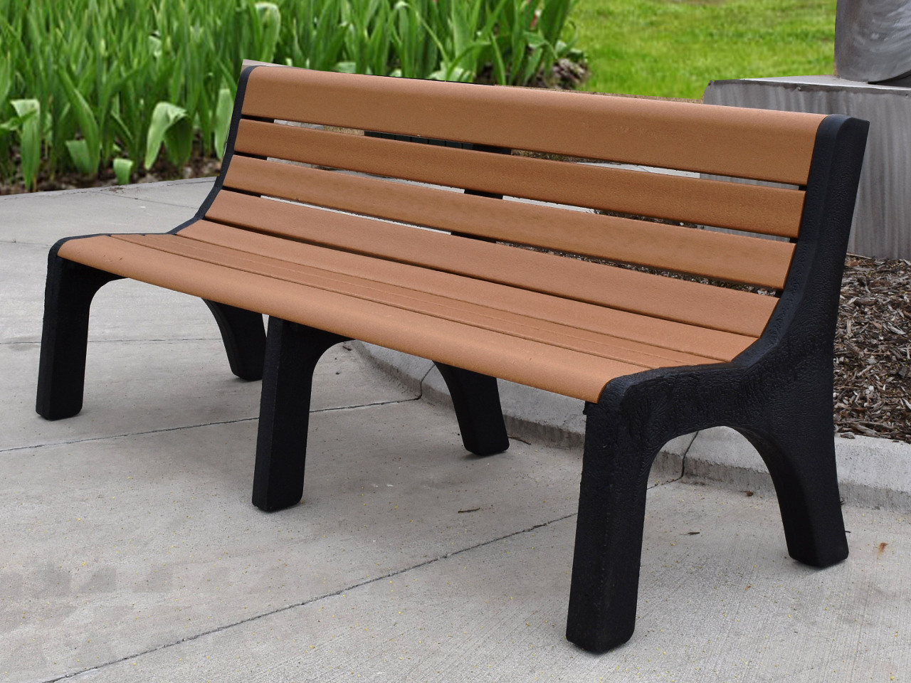 Newport Series Recycled Plastic Bench by Jayhawk | AAA State of Play