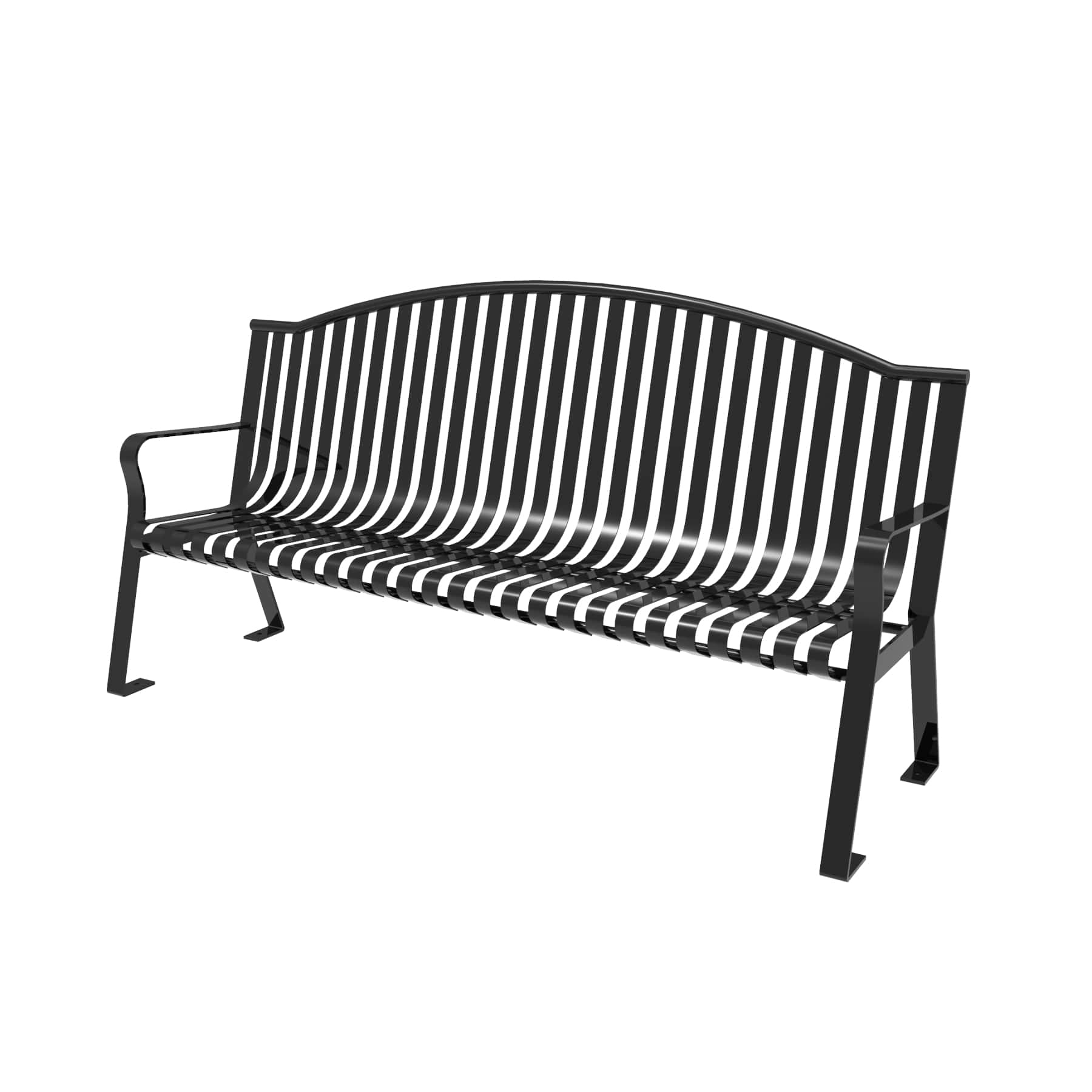 Fabulous Arched Metro Bench Machost Co Dining Chair Design Ideas Machostcouk