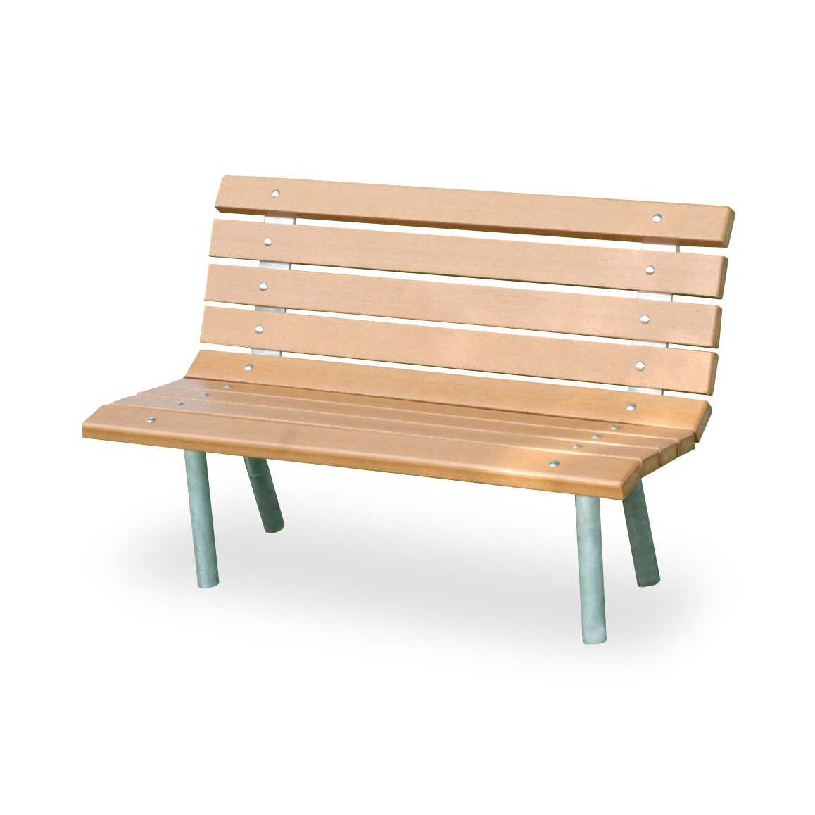 Recycled Plastic St Pete Bench By Jayhawk Plastics