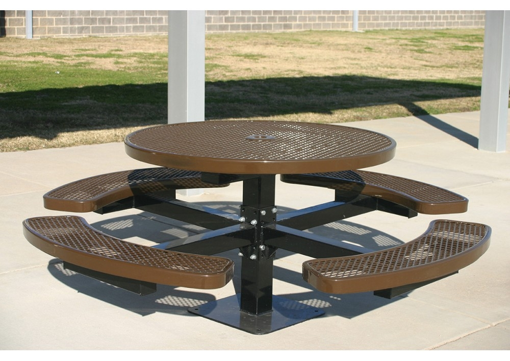 Standard Round Table.Standard Metal Rooted Round Table