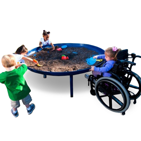 ada preschool elevated sand table aaa state of play 278