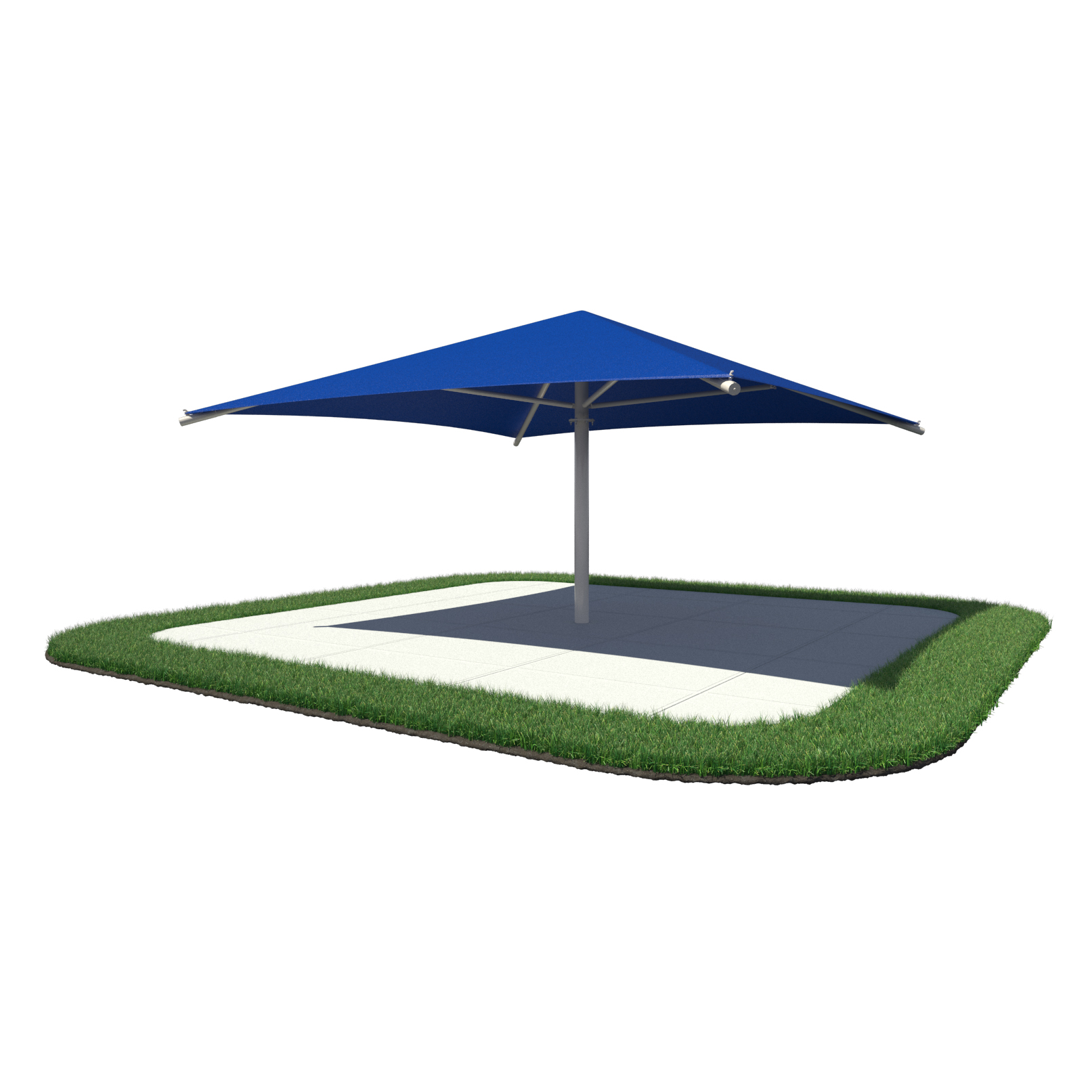 Umbrella Square Shade Shelter By Superior Shade Aaa