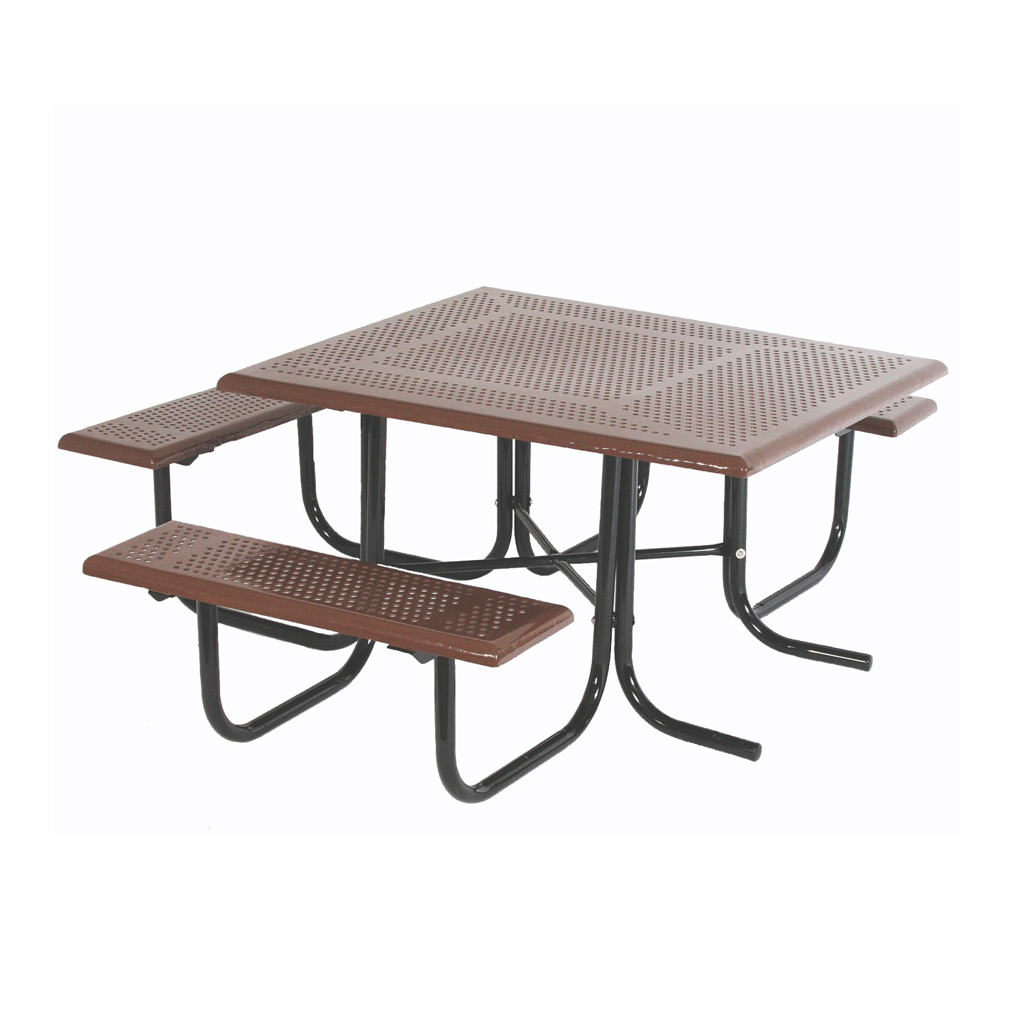Wheelchair Accessible Square Picnic Table By SportsPlay - Wheelchair picnic table