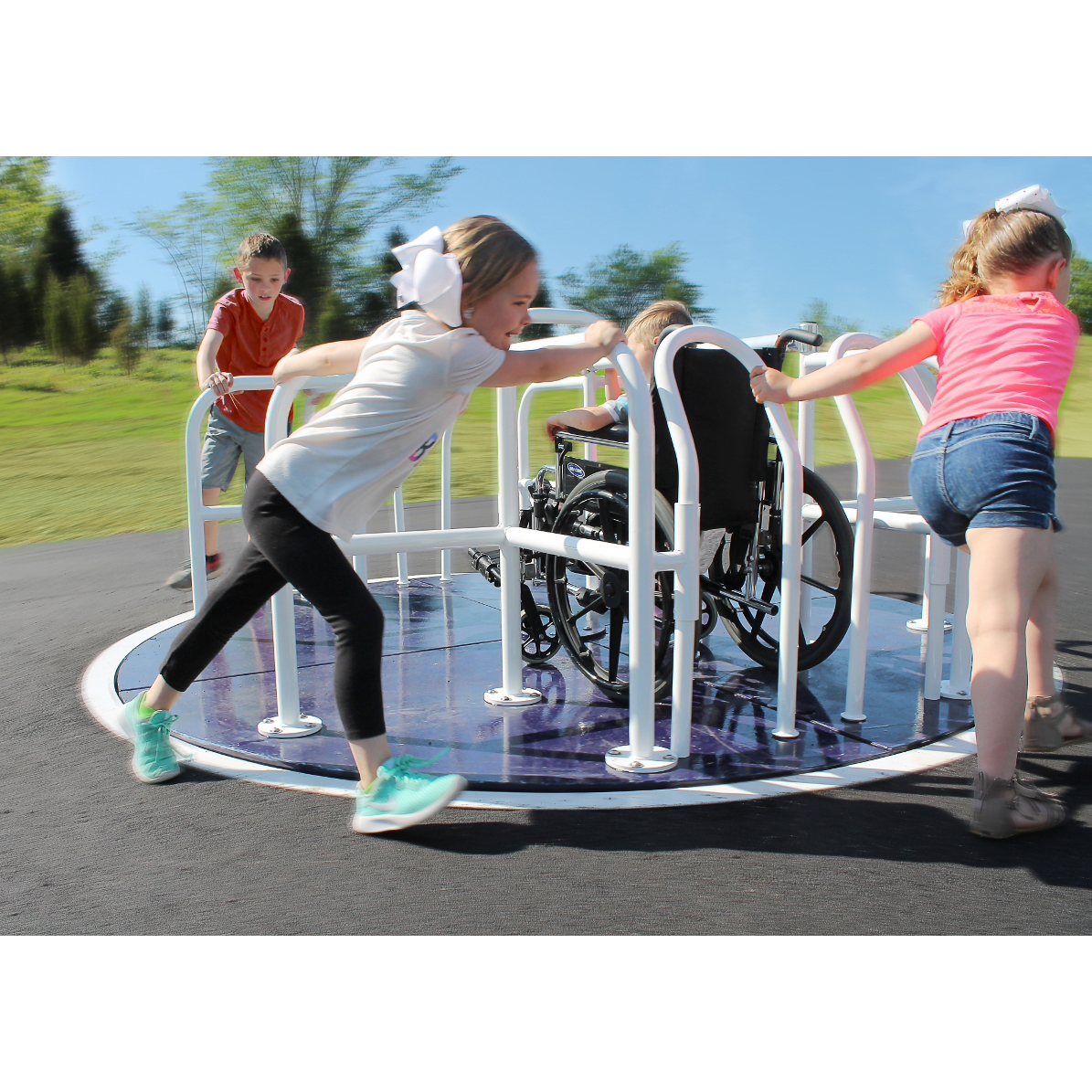 Wheelchair Accessible Merry Go Round Aaa State Of Play