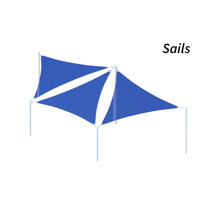 Sails Shade Structure Design