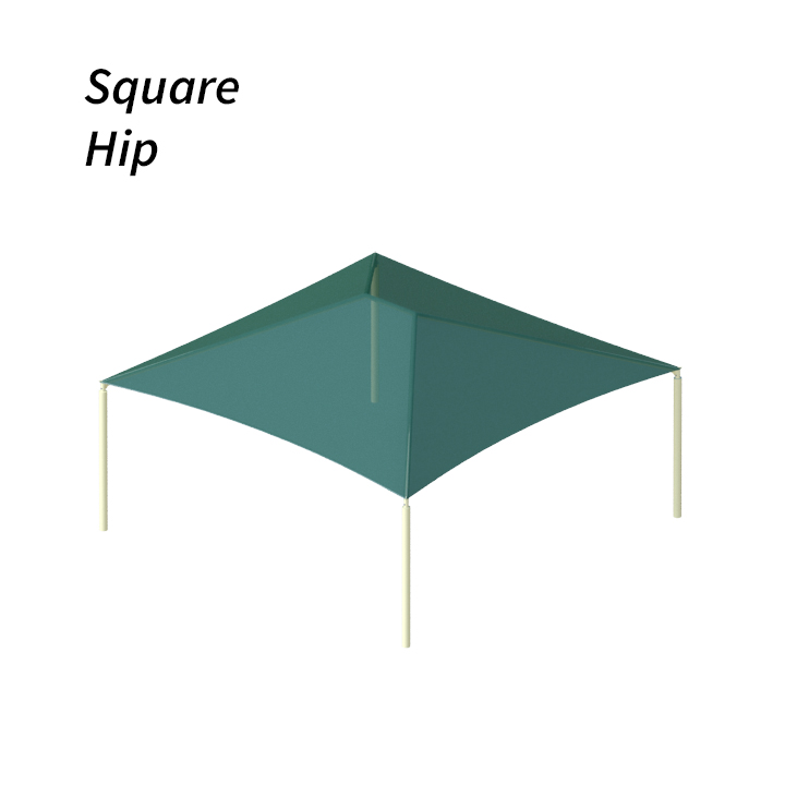 Hip Shade Structure Design