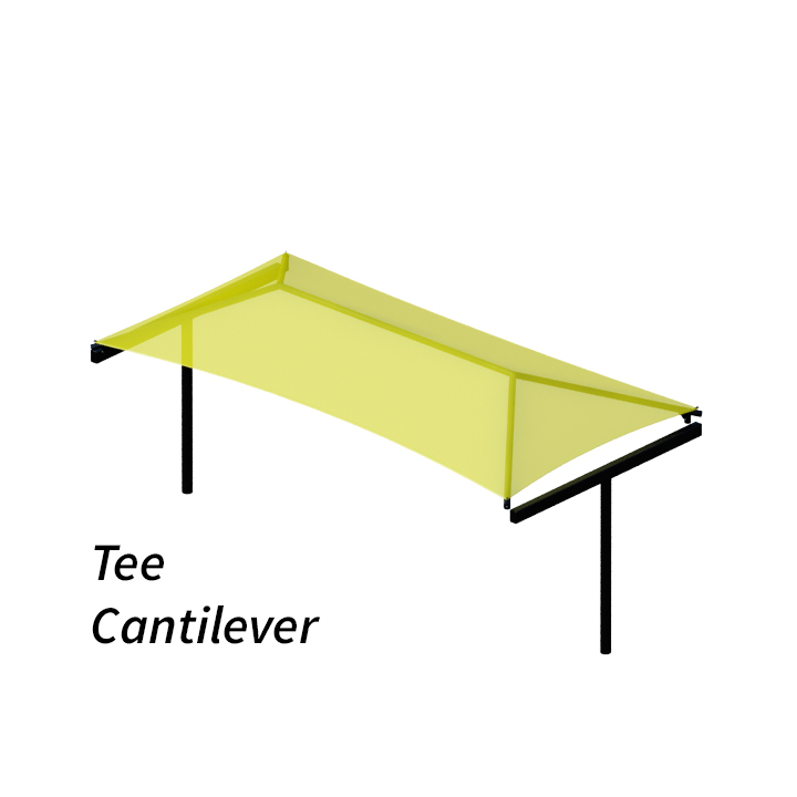 Cantilever Shade Structure Design